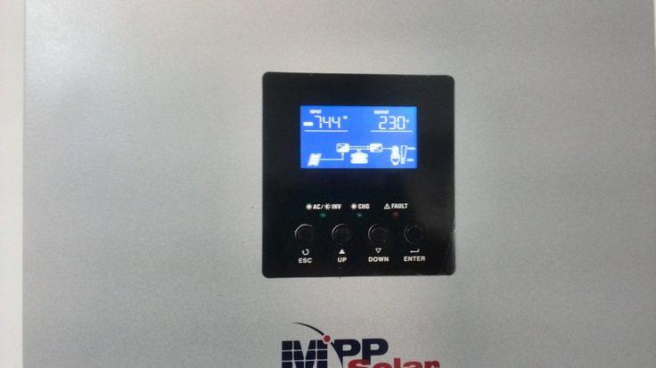 Invertor 2400w 24V MPPSolar – Panouri solare-fotovoltaice