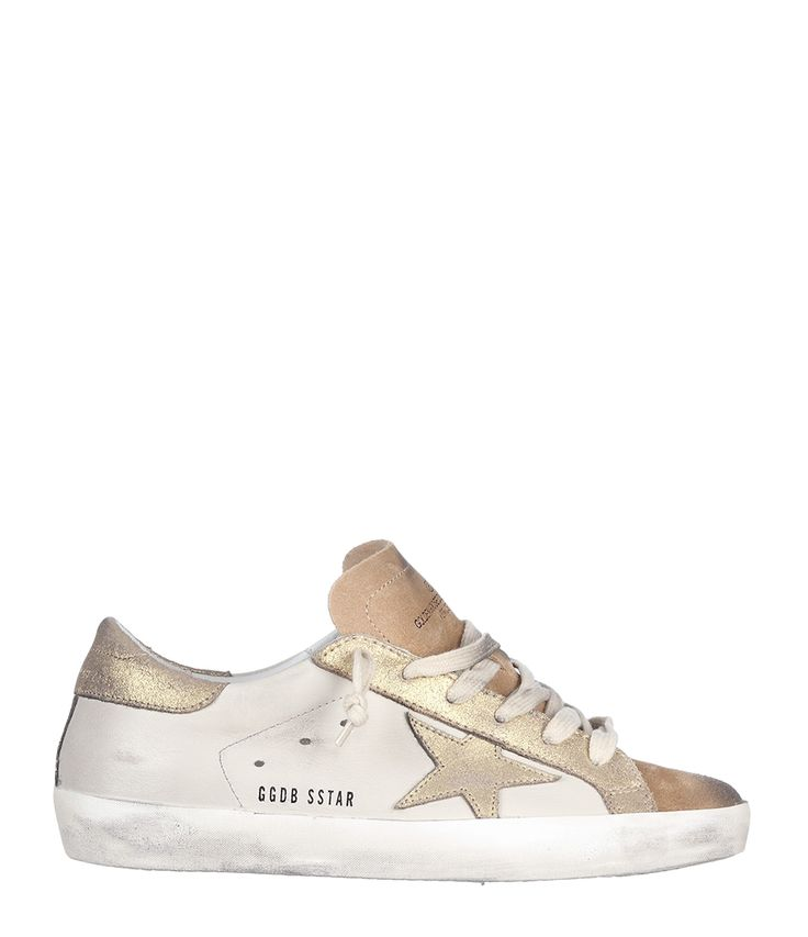 Golden Goose Womens Palm Tree Print Sneakers in Black - Golden Goose Outlet