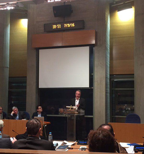 Τώρα στο Δημοτικό Συμβούλιο Θεσσαλονίκης.  Ο Δήμαρχος επέλεξε να δραπετεύσει #entaxei #thessaloniki  (@KalafatisSt)   Twitter