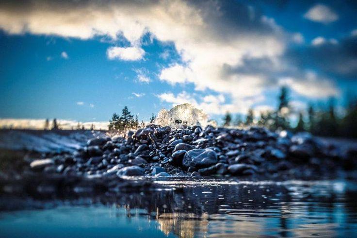 Imeytysallas Virttaankankaan tekopohjavesilaitoksella.Kuva: Mikael Rydenfelt, TS