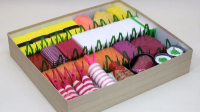 This Isn't Real Sushi. These Are Diapers. Hilarious baby shower gift idea