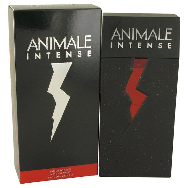 Animale Intense Cologne 200ml EDT Men Spray | this masculine scent was created to compliment the women's version of this scent by the same name. The male version is powerful and deeply gratifying. It is kept refreshing by the brilliant use of marine notes mixed with some great fruits and spices. This flask contains 6.7 fl. oz which converts to 200ml.