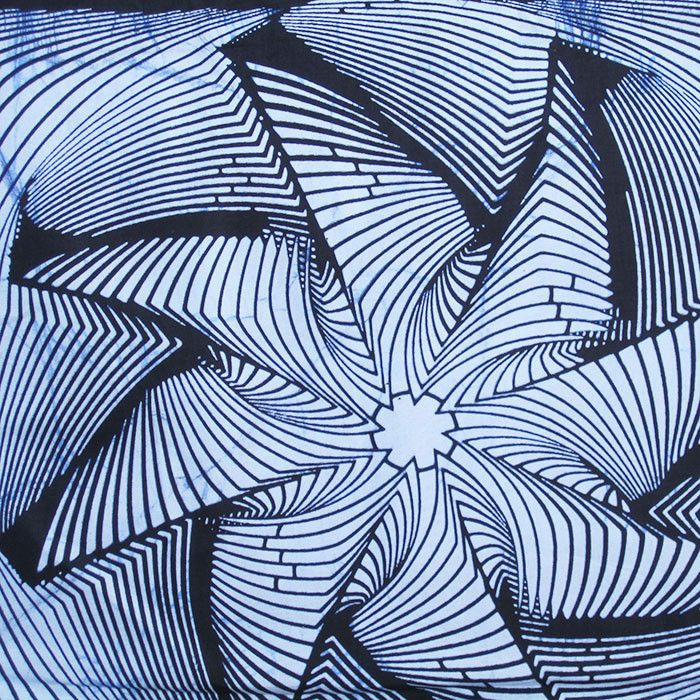 African Wax Print Fabric #191