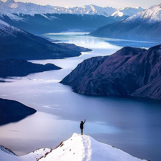 Wanaka, New Zealand. One of the best views in the world  Photo by @rachstewart_nz Explore. Share. Inspire: #EarthFocus