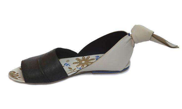 Folklore shoe design by Hel Kolníková    Tomas Bata University