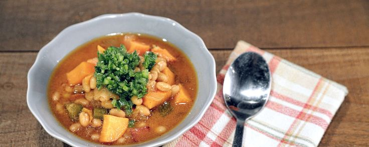 Daphne's Baked Beans & Sweet Potato Stew