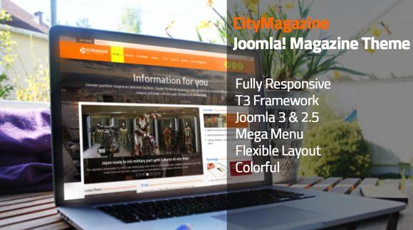 CityMagazine - Joomla Magazine Theme by CityThemez on Creative Market
