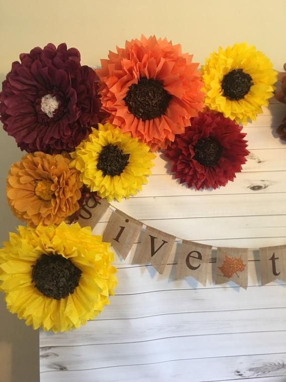 Build your own fall paper flower backdrop for autumn weddings, party decor, fall home decor, bridal