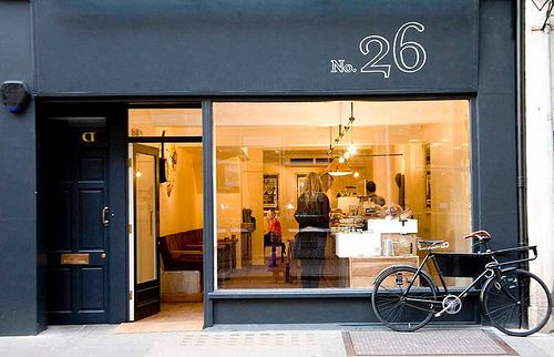 building color and no.: Shop Fronts, London, Shops, Coffee, Cafe, Storefront, Store Front, Beautiful Shopfronts, Design