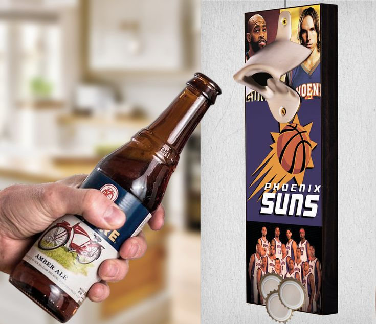 This Phoenix Suns bottle opener can be a great gift to any sports fan. It's the perfect addition to any man cave, bar area, kitchen, or to just put out while watching the big game. It is also a great groomsmen gift. Phoenix Suns Wall Mount Bottle Opener Phoenix Suns Cap Catcher Phoenix Suns Wall Opener Phoenix Suns Beer Opener Phoenix Suns Wall Art Phoenix Suns Craft Phoenix Suns Decor Phoenix Suns Gift Phoenix Suns Diy Phoenix Suns Art