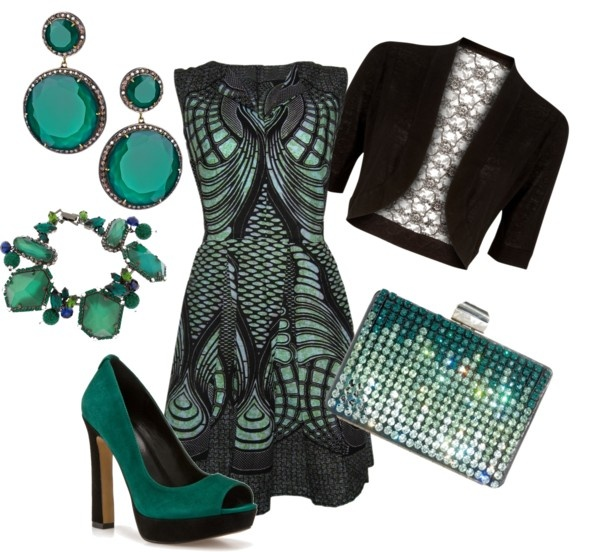 """Fall Wedding Outfit"" by trinavokes on Polyvore (I kind of like this in a weird way like I could walk in with Ryan Reynolds dressed as green lantern)"