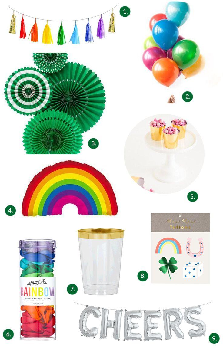 St. Patrick's Day Rainbow Themed Party | The Sweet Lulu Blog | Shop Sweet Lulu