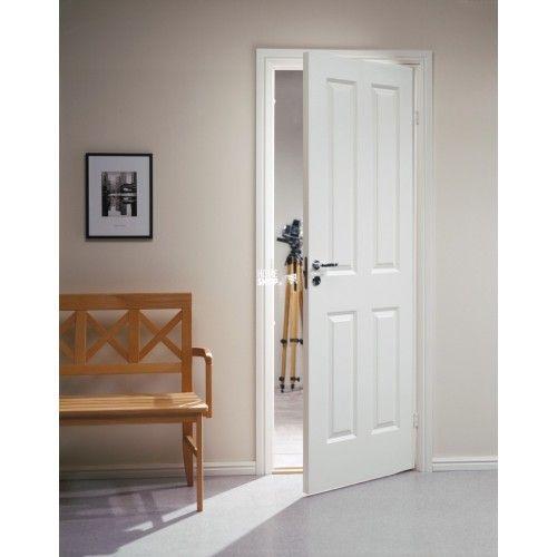 Swedoor Style 04 hvidmalet dør celle m7x21 / 62,5x204cm