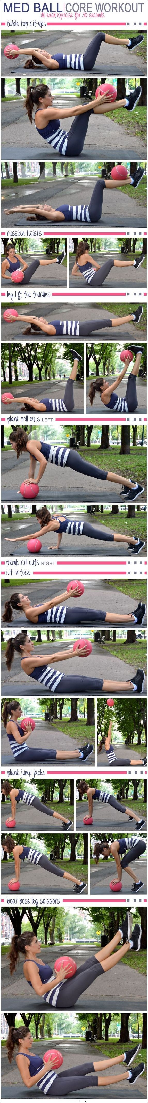 Get ready to work your core with these dynamic moves using the stability ball. This core stability ball circuit was designed as a workout for beginners.   #weightloss #loseweight #howtoloseweight #coreworkout #customworkout #morningworkout #fitness #health #diet