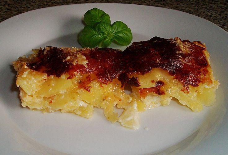 Kartoffelgratin (Rezept mit Bild) von hushpuppie | Chefkoch.de