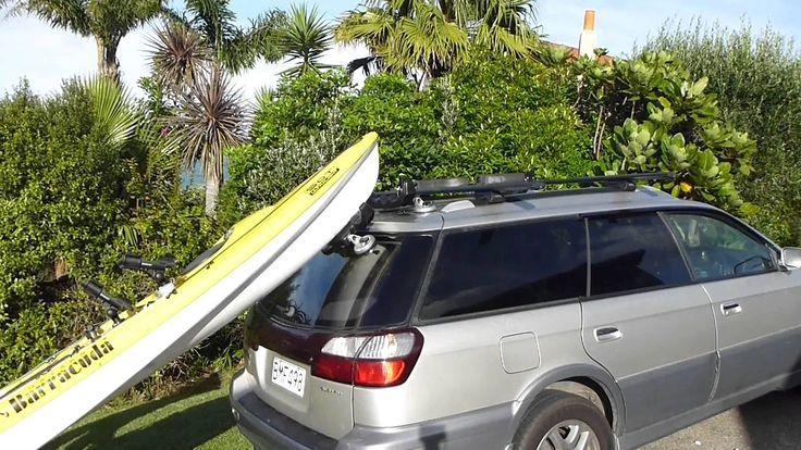K-RACK Easy Kayak Loader for Hatchback & SUV Vehicles