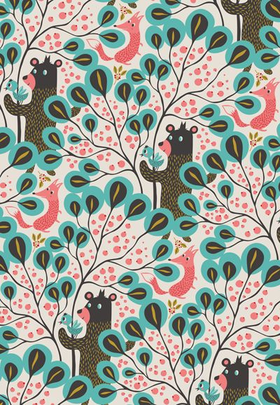 Prints from Lagom featured on print & pattern (Mogie playhouse)