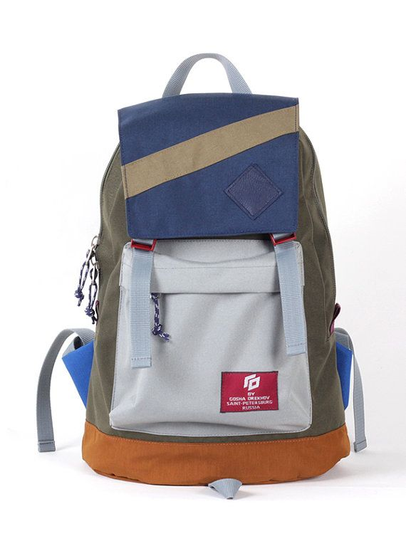 Backpack Rucksack Men Backpack Hiking Backpack by GOmessengerbags
