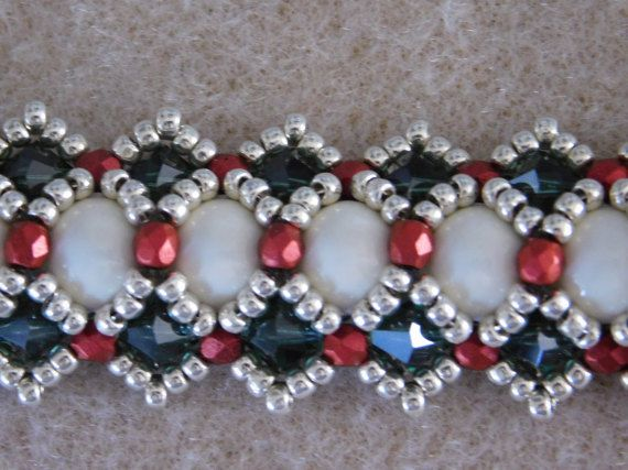 Beaded Bracelet Tutorial Pattern Instructions by poetryinbeads