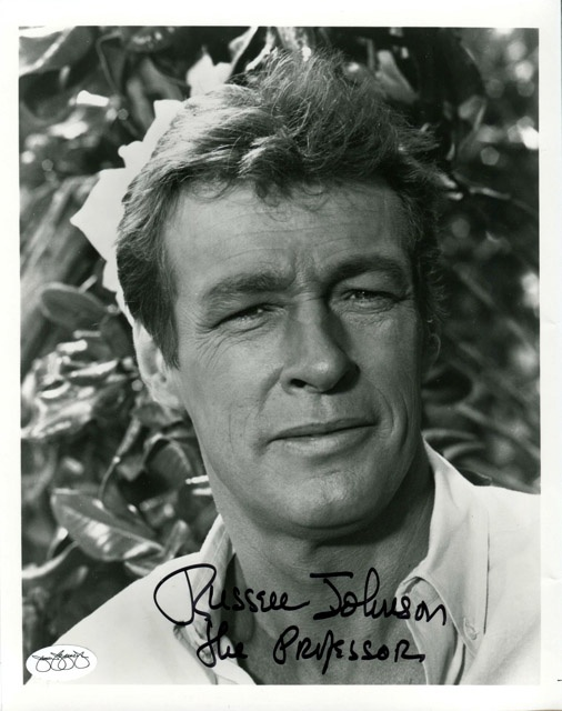Russell Johnson - After high school, in the midst of World War II, Johnson joined the United States Army Air Forces as an aviation cadet and was commissioned as a second lieutenant. He flew 44 combat missions as a bombardier in B-25 Mitchell twin-engine medium bombers. For further info: http://en.wikipedia.org/wiki/Russell_Johnson