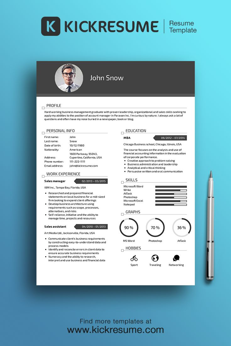 17  images about creative resume design on pinterest