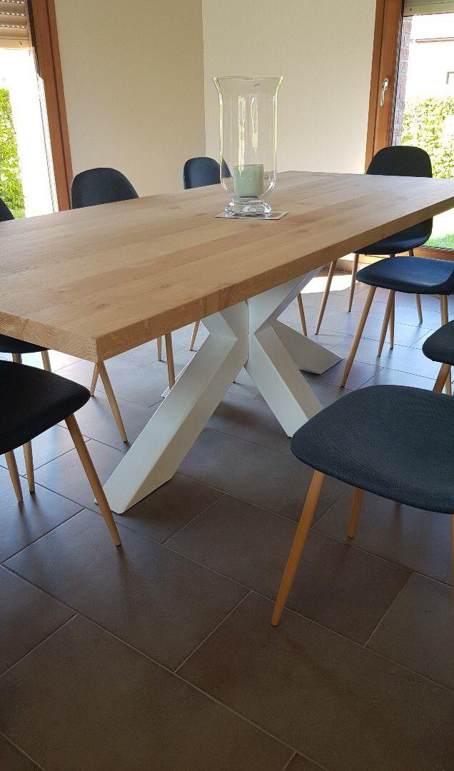 table chene pays bois salle a manger