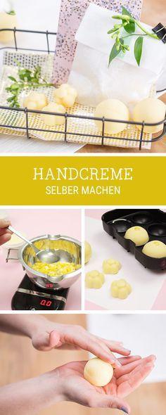 Handcreme selbermachen: DIY für selbstgemachte Creme als Geschenkidee, organische Kosmetik / handmade organic cosmetic: diy tutorial for homemade hand cream via DaWanda.com