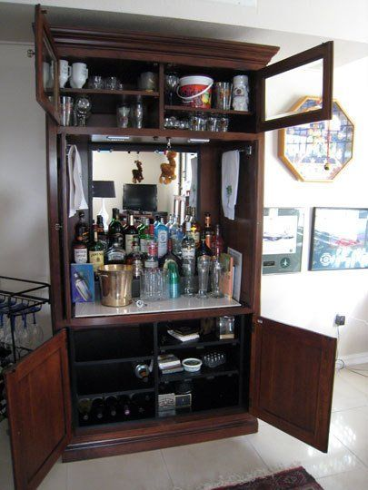How To Repurpose an Outdated TV Armoire | Apartment Therapy