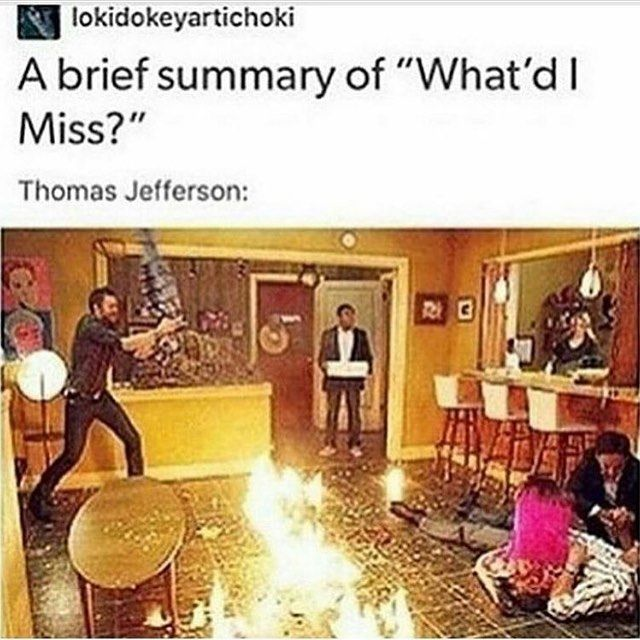 This photo fully explains why I relate to Thomas Jefferson