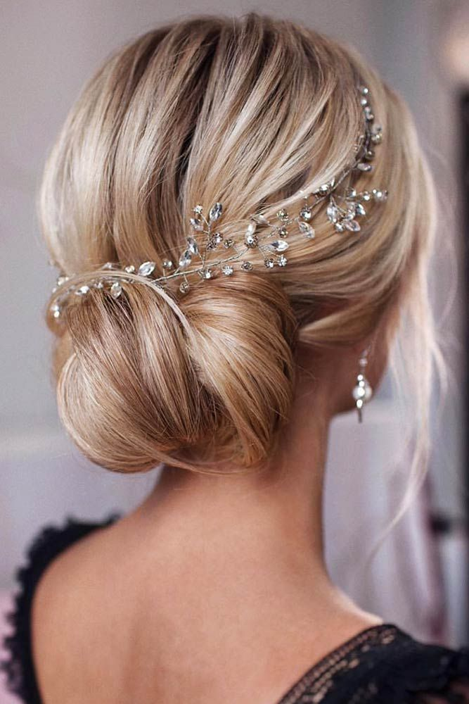 50 Bridesmaid Hair Styling Ideas Lovehairstyles Com Crystal Hair Vine Bridal Hair Headpiece Wedding Hair Head Piece