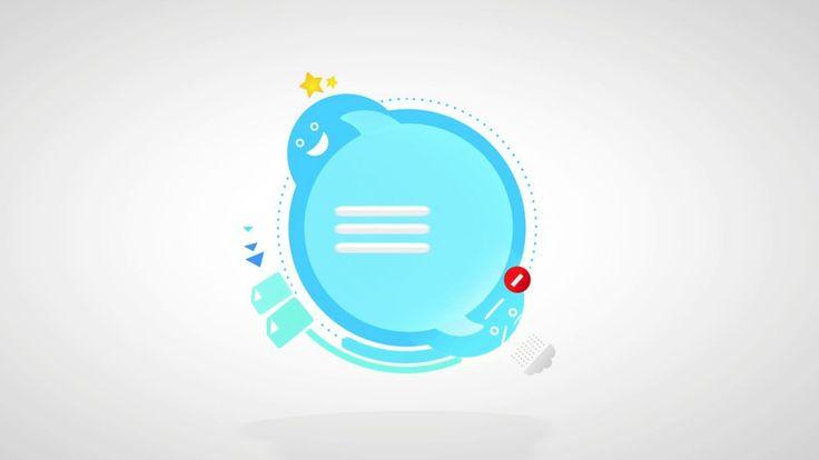 Skype Logo Animation - Chat on Vimeo