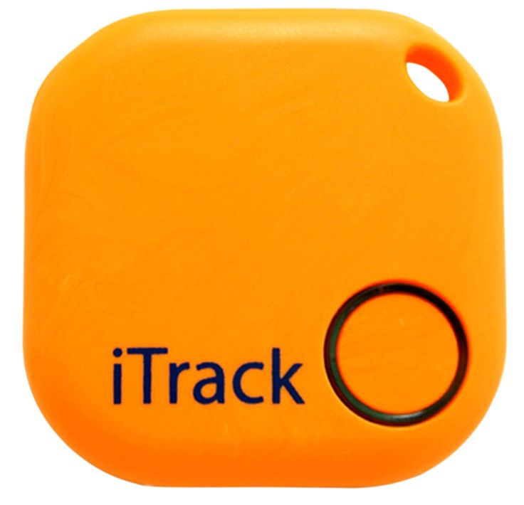 Key finder GPS Smartphone Bluetooth by iTrack Easy Anti-Lost Device to Track Items. Easy to Use – App & Green LED Alarm Device with Batteries. Also Remote Camera Controller.