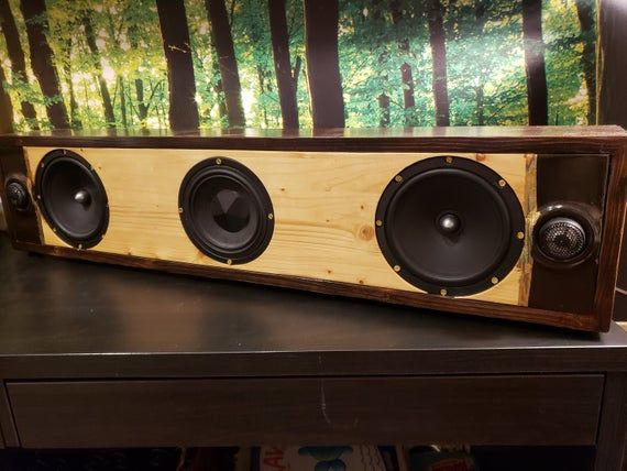 Custom Built 2 1 Channel Bluetooth Speaker If You Are Looking For