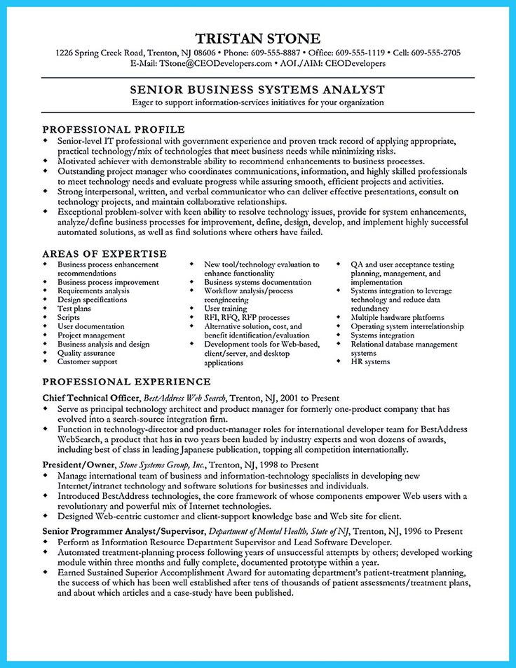 Since we care about you and we want you, who donu0027t have the job - business system analyst resume