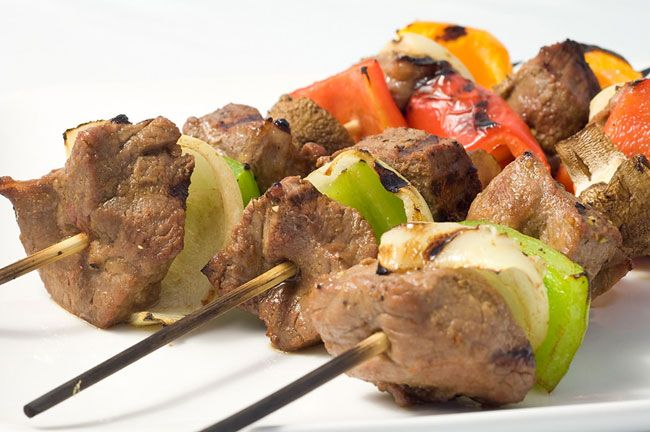 Receta de Brochetas de cordero (kabab) | Recetas Arabes | Recetas de Cocina Arabe