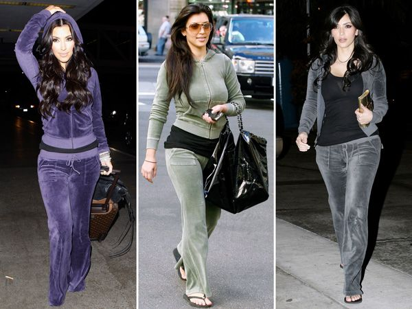 An Ode to Kim Kardashian West and Her Beloved Juicy Couture Velour Tracksuits http://stylenews.peoplestylewatch.com/2016/01/14/kim-kardashian-juicy-couture-tracksuit-vogue/