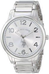 U.S. Polo Assn. Classic Men's USC80225 Analog-Quartz Silver Watch