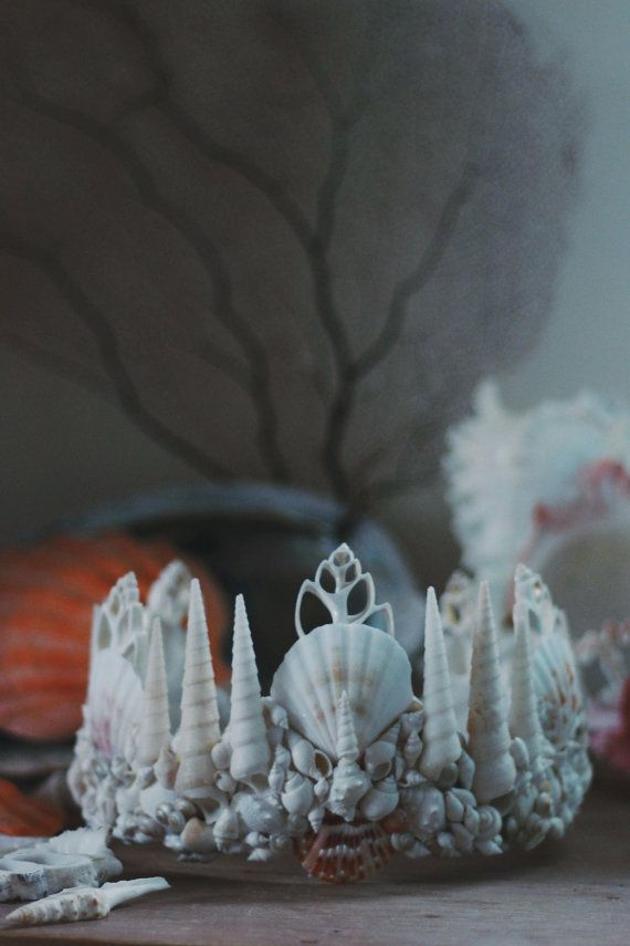 Atlantis-Meerjungfrau-Krone von wildandfreejewelry auf Etsy