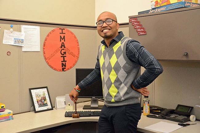 Abu Chowdhury moved to the U.S. from Bangladesh in 2009. He served as Student Government Association President at Montgomery County Community College, where he graduated in May 2013 with an associate's degree in Liberal Studies. In the fall, Abu will transfer to Bucknell University, where he was accepted on full tuition scholarship