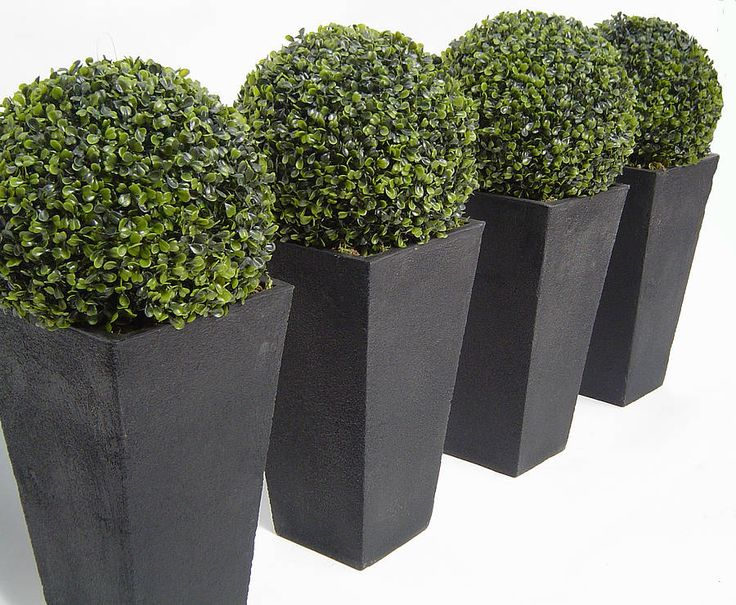 petite artificial boxwood topiary ball by artificial landscapes | notonthehighstreet.com