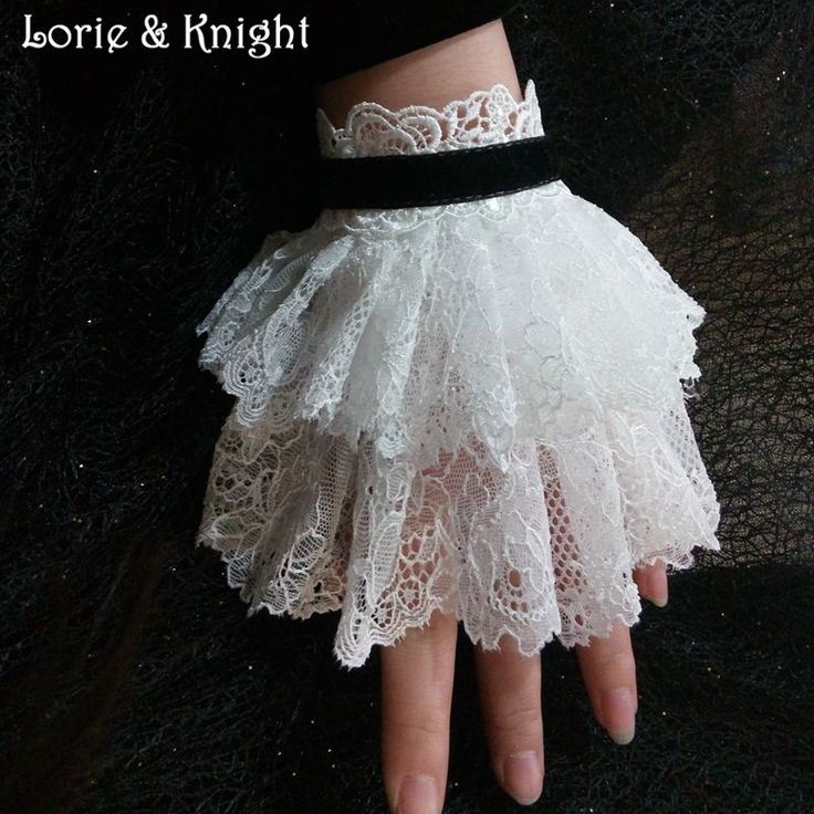 Vintage Gothic Lace Victorian Wrist Cuff Bracelet WHITE Find More Charm Bracelets Information about Vintage Gothic Lace Victorian Wrist Cuff Bracelet WHITE,High Quality lace white wedding dress,China lace cuff bracelet Suppliers, Cheap lace front indian remy wigs from Lorie & Knight on Aliexpress.com