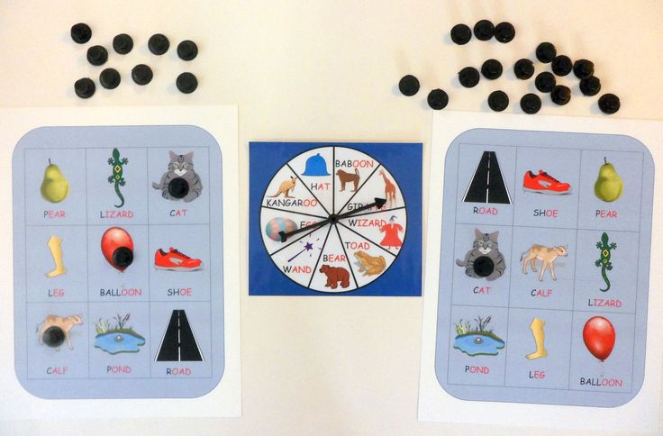 Rhyming Bingo - inspired by the story The Magic Hat