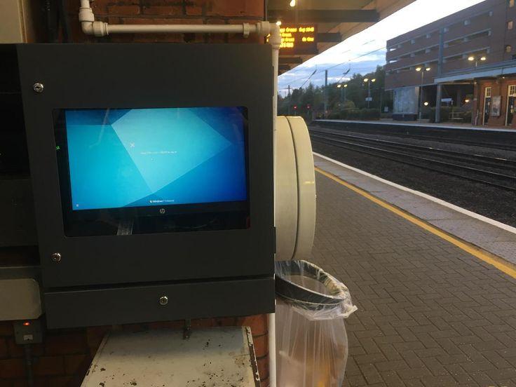 Welwyn Garden City Train Station United Kingdom #bsod #pbsod