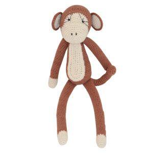 Suzi B Crochet Monkey Small