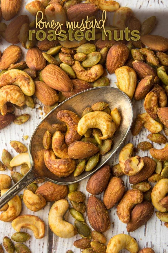 Paleo Honey Mustard Roasted Nuts — Foraged Dish