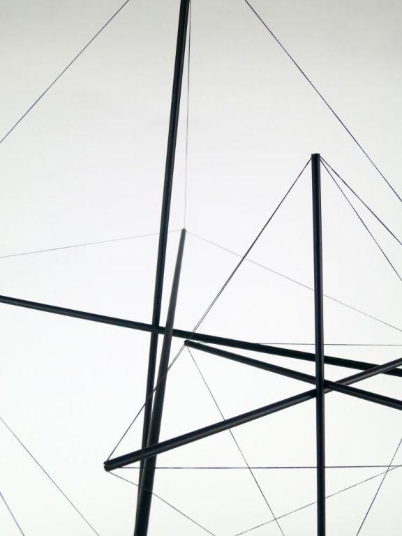 Bruno Munari, Tensostrutture, 1990