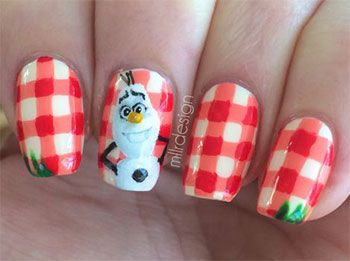 15-Disney-Frozen-Olaf-Nail-Art-Designs-Ideas-Trends-Stickers-2014-Olaf-Nails-14