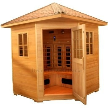 Saunas outdoor and home on pinterest for Home saunas since 1974