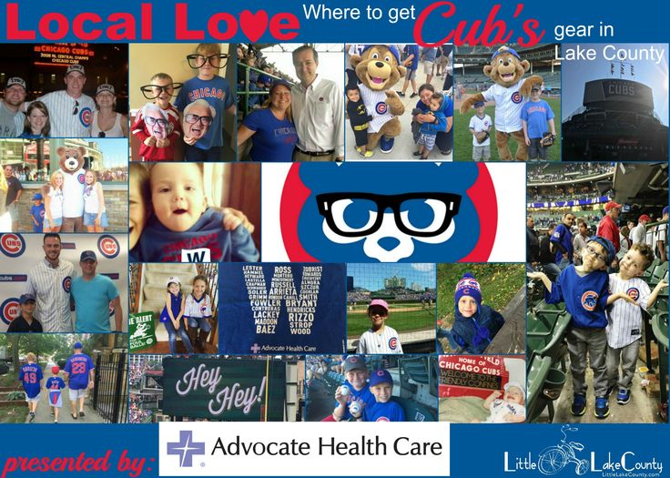 Get ready to cheer on the Cubs tonight with items from these Lake County Stores for Cubs Gear.