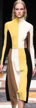 Модные деловые офисные платья Осень-Зима 2015-2016 - тенденции фото